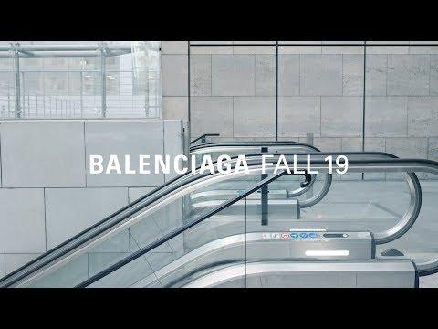 Balenciaga Fall 19 Campaign video cover