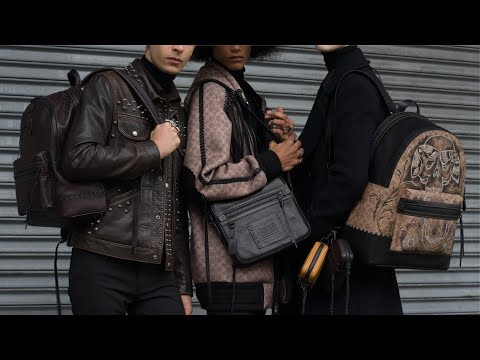 Coach Men's Fall 2018 video cover