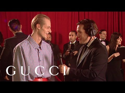 #GucciShowtime Red Carpet Interview I video cover