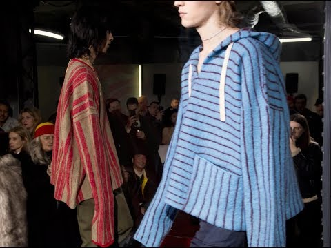 Acne Studios Men's Fall/Winter 2018 video cover