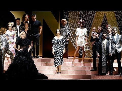 Dolce&Gabbana Spring Summer 2019 Women's Fashion Show video cover