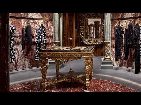 Dolce&Gabbana Boutique - Via della Spiga 2, Milan video cover