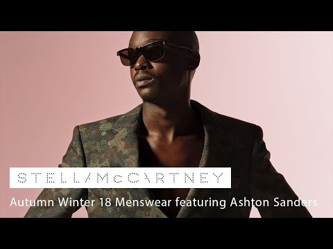 Autumn Winter 18 Menswear featuring Ashton Sanders video cover