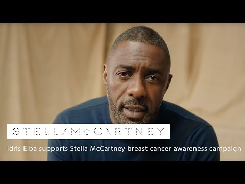 Idris Elba supports Stella McCartney breast cancer video cover