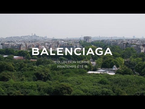 Balenciaga Men Summer 18 Show video cover