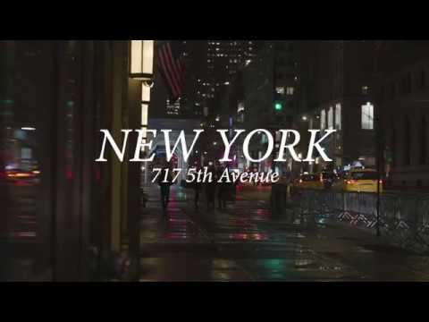Dolce&Gabbana January 2019 window displays, New York video cover